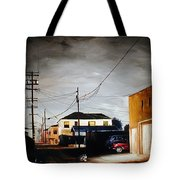 Parked In The Light Tote Bag