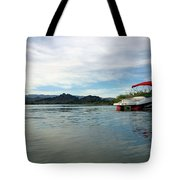 Parked Tote Bag