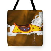 Parker Flying Carousel Horse 1 Tote Bag