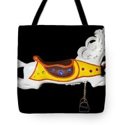 Parker Flying Carousel Horse 2 Tote Bag