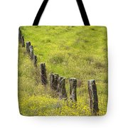 Parker Ranch Fence Tote Bag