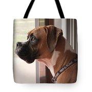 Parker The Boxer Tote Bag