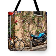 Parking Corner Tote Bag