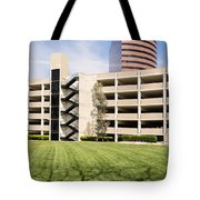 Parking Garage Tote Bag