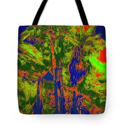 Parking Lot Palms 1 15 Tote Bag