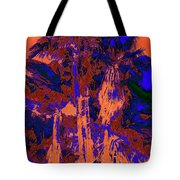 Parking Lot Palms 1 18 Tote Bag