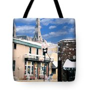 Parkville In Winter Tote Bag