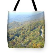 Parkway Mountains Tote Bag