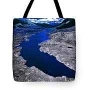Parlament Blue Reservoir Tote Bag