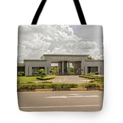 Parliament Building In Lilongwe Tote Bag