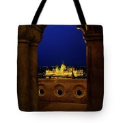 Parliament Framed Tote Bag