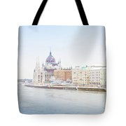 parliament in  Budapest Tote Bag