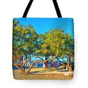 Parmer's Resort At Little Torch Key Tote Bag
