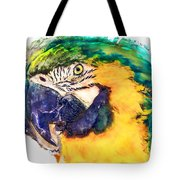 Parrot Ara Watercolor Painting Tote Bag