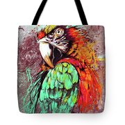 Parrot Art 09i Tote Bag