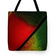 Parrot Feather Macro Tote Bag