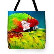 Parrot Time 1 Tote Bag