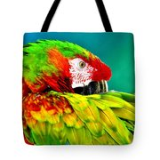 Parrot Time 2 Tote Bag