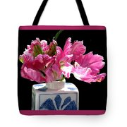 Parrot Tulips On The Windowsill Tote Bag