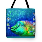 Parrotfish - Rainbow Spirit Tote Bag