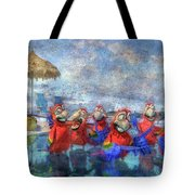 Parrots In Paradise Tote Bag