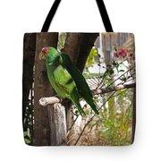 Parrots. Tote Bag