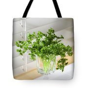 Parsley Bouquet Tote Bag
