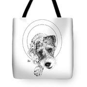 Parson Russell Terrier @elmo.parson Tote Bag