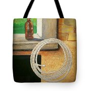 Part Of Fireplace Mural Tote Bag