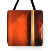 Part Of Painting And Wall Tote Bag