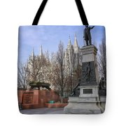 Part Of Temple Square Tote Bag