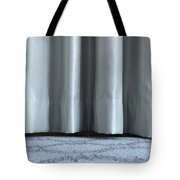 Part Of The Base Of An Interior Curtain  Tote Bag