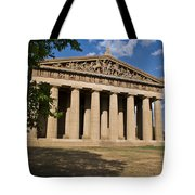 Parthenon Nashville Tennessee From The Shade Tote Bag