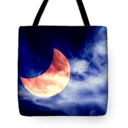 Partial Eclipse Tote Bag