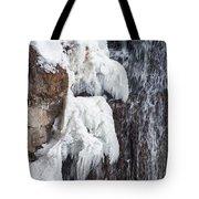 Partially Frozen Tote Bag