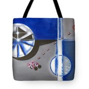 Partical Emitter Tote Bag
