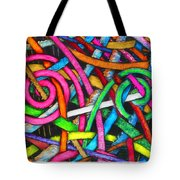 Particle Track Forty-one Tote Bag