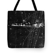 Particles Pass Through Lead Shielding Tote Bag