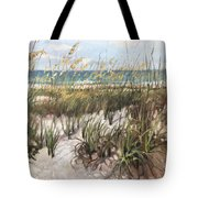 Waiting On The Sun Tote Bag