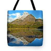 Partly Cloudy Fishercap Reflections Tote Bag