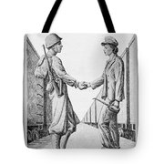 Partners In Victory Tote Bag