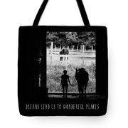 Partners Quote Tote Bag
