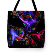 Party All The Time Tote Bag