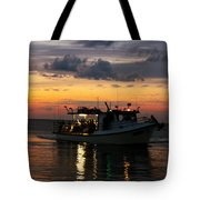 Party Boat Tote Bag