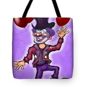Party Clown Tote Bag