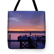Party Dock Tote Bag