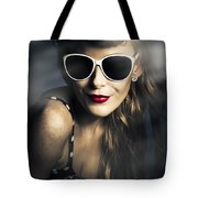 Party Fashion Pin Up Tote Bag
