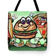 Party Foods Tote Bag