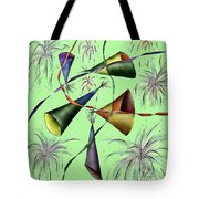 Party Hat Abstract  Tote Bag