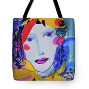 Party Time Collage Tote Bag